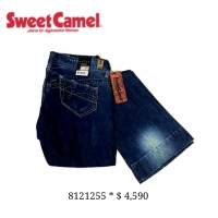 ( 8121255 ) [SIZE 25~27] SWEET CAMEL SUPERFINE SERIES BELL BOTTOM JEANS