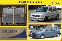 PERODUA KELISA/KENARI AUTO RADIATOR ASSY 26MM 2LAYER (DENSO)