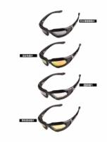 Daisy C5 Polarized Army Goggles, Military Sunglasses (With 4 Lens Kit)