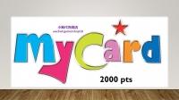 MyCard (MY) 2000 pts