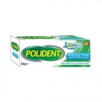Polident Denture Adhesive Cream Flavour Free 20g