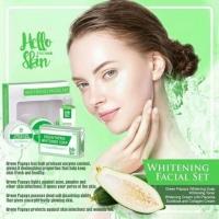 Green Papaya Whitening Set Hello Skin Misumi