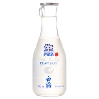 Hakutsuru Junmai Namachozo Draft Sake 300 ml