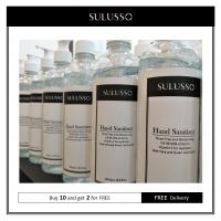SULUSSO Hand Sanitizer | Buy 10 Bottles(500ml Each) Get 2 Bottles FREE(500ml Each) | FREE Shipping