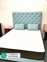 Queen size Mattress + bed-frame set (Scandinavian style)