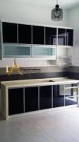 Black Galaxy kitchen cabinet (customize)