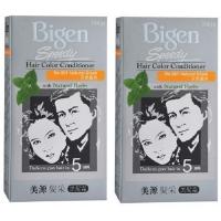 Bigen Speedy Hair Color Conditioner No 881 Natural Black x 2 boxes