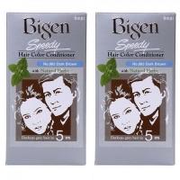 Bigen Speedy Hair Color Conditioner No 883 Dark Brown x 2 box