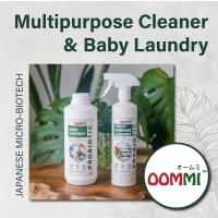 Promotion OOMMI Probiotic Multipurpose Cleaner 500ml + OOMMI Baby Laundry 1 Litre (Set)