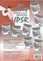 (PEP PUBLICATIONS SDN BHD)SIRI EFEKTIF KERTAS MODEL MATEMATIK(DWIBAHASA)KERTAS 015/2 UPSR 2020