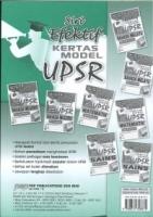 (PEP PUBLICATIONS SDN BHD)SIRI EFEKTIF KERTAS MODEL SAINS(DWIBAHASA)KERTAS 018/1 UPSR 2020