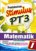 (PEP PUBLICATIONS SDN BHD)PENTAKSIRAN STIMULUS MATEMATIK(DWIBAHASA)TINGKATAN 1 PT3 2020