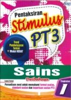 (PEP PUBLICATIONS SDN BHD)PENTAKSIRAN STIMULUS SAINS(DWIBAHASA)TINGKATAN 1 PT3 2020