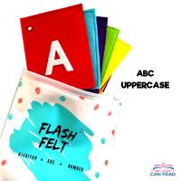 Flash Felt ABC Uppercase