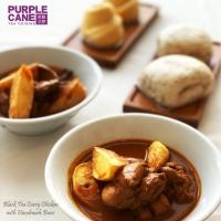 Frozen Black Tea Curry Chicken with Handmade Buns