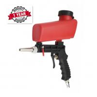 High Quality Portable Gravity Sandblasting Gun Miniature Pneumatic Sand Blasting Device 1 Year Warranty