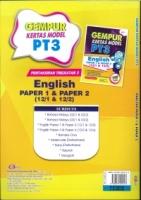(CEMERLANG PUBLICATIONS SDN BHD)GEMPUR KERTAS MODEL ENGLISH PAPER 1&PAPER 2(12/1&12/2)PT3 2020