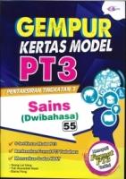 (CEMERLANG PUBLICATIONS SDN BHD)GEMPUR KERTAS MODEL SAINS(DWIBAHASA)PT3 2020
