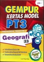 (CEMERLANG PUBLICATIONS SDN BHD)GEMPUR KERTAS MODEL GEOGRAFI PT3 2020