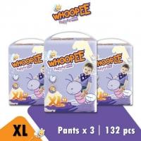 WHOOPEE PANTS M58 / L48 / XL44 / XXL38 x 3 PACKS