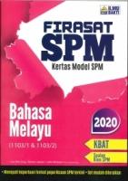 (PENERBIT ILMU BAKTI SDN BHD)FIRASAT SPM KERTAS MODEL BAHASA MELAYU(1103/1&1103/2)SPM 2020
