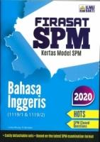 (PENERBIT ILMU BAKTI SDN BHD)FIRASAT SPM KERTAS MODEL BAHASA INGGERIS(1119/1&1119/2)SPM 2020