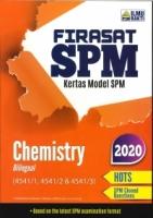 (PENERBIT ILMU BAKTI SDN BHD)FIRASAT SPM KERTAS MODEL CHEMISTRY(BILINGUAL)(4541/1,4541/2&4541/3)SPM 2020