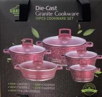 5 IN 1 UAKEN Die-Cast Granite Cookware