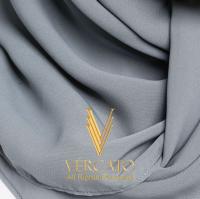 VERCATO Premium Bawal Voile in Azure Blue