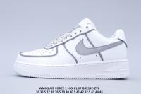 Nike Woman's Air Force 1 '07 'White/Grey'