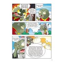 Plants vs Zombies 2● Soal & Jawab Komik Sains: Makanan Istimewa - Bolehkah Aiskrim Dimakan Bersama Ikan?