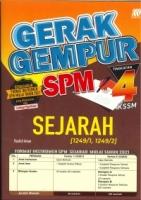 (SASBADI SDN BHD)GERAK GEMPUR SEJARAH(1249/1,1249/2)TINGKATAN 4 KSSM SPM 2020