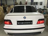 BMW E36 Tail Light 92-97 4Door Crystal Red/Smoke
