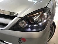 Toyota Innova Head Light 04-08 Projector DRL LED Black