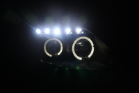 Nissan Fairlady 350Z Head Light 03-05 Projector LED Ring Black Base