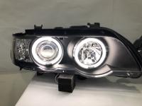 BMW X5 E53 Head Light 98-02 Projector CCFL Ring Black Base