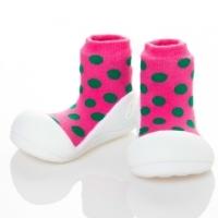 (Attipas)Attipas Korea Happy toddler shoes [Pink & dot]