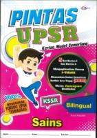 (CEMERLANG PUBLICATIONS SDN BHD)PINTAS KERTAS MODEL CEMERLANG SAINS(BILINGUAL)KSSR UPSR 2020