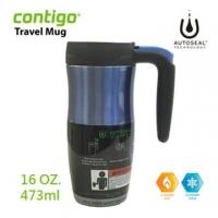 (CONTIGO)CONTIGO U.S. Randolph stainless steel heat preservation mug 473ml (Blue)