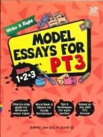 (PENERBITAN PELANGI SDN BHD)WRITE IT RIGHT MODEL ESSAYS FOR FORM 1.2.3 PT3 2020