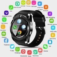 V8 Smart Watch Phone with Sim Card Slot Smart Watch