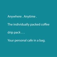 Coffee Drip Pack / Ethiopia Guji Sidamo Natural Single Origin Filter Coffee 12g X 30 packs