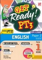 (PENERBITAN PELANGI SDN BHD)GET READY ENGLISH(12/2)PAPER 2 FORM 1 PT3 KSSM 2020