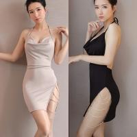 10.10 Sales Premium Ladies Night Wear One-Piece Dress Lingerie Sleepwear ♥Bralette *High Quality