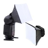 Universal Foldable Soft Box Flash Diffuser Softbox for Canon 580EX 550Ex 540EZ 430EZ 420EZ 430EX 420EX