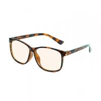 [TAITRA] GOT Blue Light Filter Glasses - Fashionable Hipster Large Lenses - Tortoiseshell