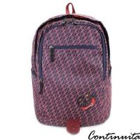 (continuita)[Continuita Kangni] Lightweight nylon breathable sports backpack (Camouflage Triangle)