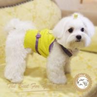 (Chérie心肝寶貝)Ch?rie yellow vest style short cedar