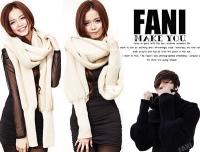 (FANI)◇Finni FaNi◇[Super soft cashmere sweater cover cloak + scarf]