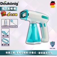(Deukonig)Deukönig Portable, Handheld Steamer, Foldable -Green
